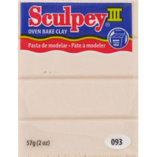 Полимерная глина Sculpey III Polymer Clay, Beige (093)