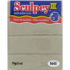 Полимерная глина Sculpey III Polymer Clay, Elephant Gray (1645)