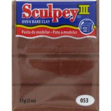 Полимерная глина Sculpey III Polymer Clay, Chocolate (053)