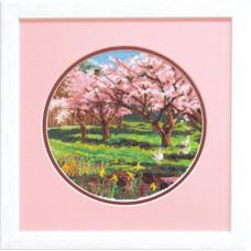 Набор для вышивания крестиком Чарівна мить Весна (А-066)