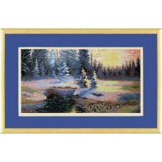 Зимний пейзаж (529)