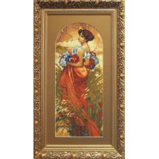 Набор для вышивания крестиком Чарівна мить Лето. А.Муха (533)