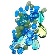 Набор бусин и бисера Dress It Up Beads, Key Lime Pie, 28 гр. (2521)