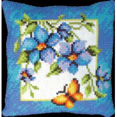 Набор для вышивания крестиком Чарівна мить Подушка Летняя прохлада (РТ-113)