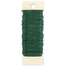 Флористическая проволока Paddle Wire #24, Green, 110 Feet (3202-01/ 522400)
