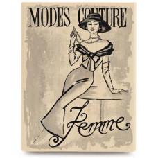 Резиновый штамп Modes Couture (JR1052)