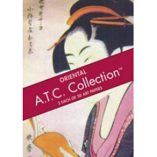 Набор бумаги Восток - Artist Trading Card Paper Pads Oriental (65-19)