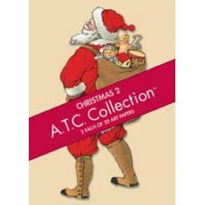Набор бумаги Рождество2 - Artist Trading Card Paper Pads Christmas 2 (65-29)