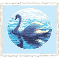 Набор для вышивания крестиком Чарівна мить Лебедь (РТ-052)