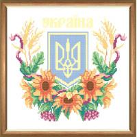 Набор для вышивания крестиком Чарівна мить Наша Украина (РТ-042)