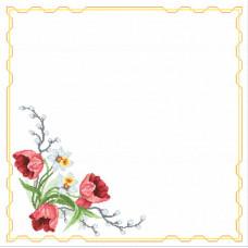 Салфетка Весенний букет (РТ-027)