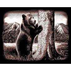 Набор для выцарапывания Copperfoil Kit, Медведь (PPСF-45)