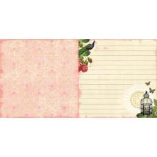 Лист бумаги 30х30 Belle Rose (1699D) (026)
