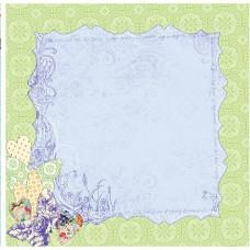Лист бумаги 30х30 Art Stitched Mulberries Grapevine (813291) (045)