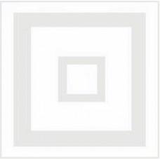 Скатерть для вышивания, белая с квадратной вставкой