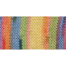 Пряжа Red Heart Heart & Sole Yarn, Mellow Stripe (E745-3955)