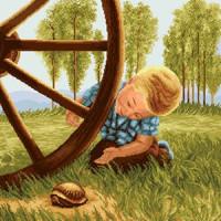 Малыш с черепахой (2.83)