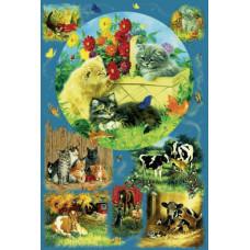 Семейный паззл Country Kittens, 625 эл. (52633)