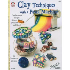 Книга Clay Techniques With A Pasta Machine (DO-3381)