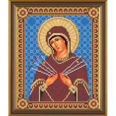 Божия Матерь Семистрельная (БИС9058)