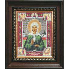 Набор для вышивания бисером Чарівна мить Икона Матрона Московская (Б-1012)
