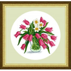 Набор для вышивания крестиком Сделано с любовью Для милых дам (ЦВ-033)