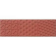 Резиновая текстурная пластина для пластика, штампинга Chain Link (69383)