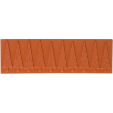 Резиновая текстурная пластина для пластика, штампинга Funky Forest (69397)