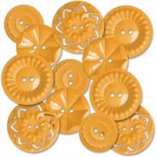 Декоративные пуговицы Оранжевые (471)