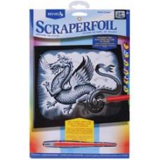 Набор для выцарапывания Scraperfoil Kit, Дракон (PPSF 47)