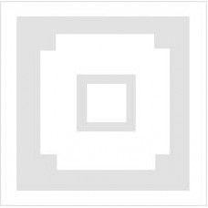 Скатерть для вышивания белая с квадратами на углах (1,5 х 1,5)