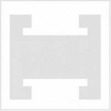 Набор салфеток для вышивания с т-образной вставкой (белые)