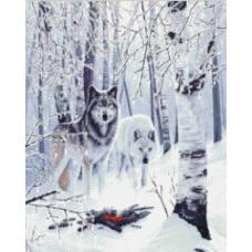 Волки зимой - Winter Wolves (#99897)
