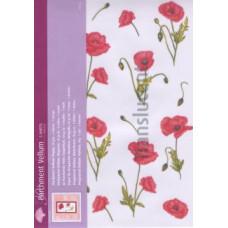Лист веллума 21х29 Poppies (62535)