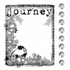 Акриловый штамп Journey (531201)