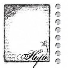 Акриловый штамп Hope (531225)