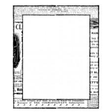 Акриловый штамп Newspaper Frame (830564)