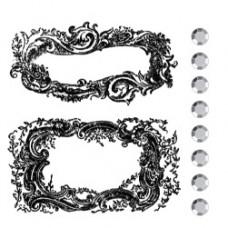 Акриловый штамп Victorian (850678)