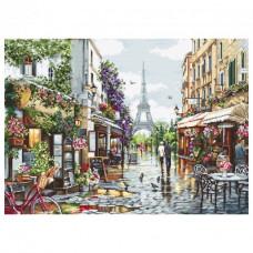 Набор для вышивания крестом Luca-S Цветущий Париж (B2365)