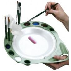 Палитра для смешивания красок OneStroke Palette. (1001)