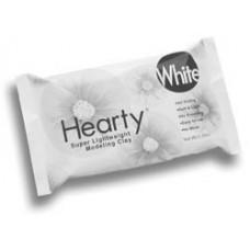 Полимерная глина Hearty Super Lightweight Air Dry Clay, Белый (1300A)