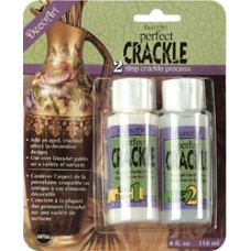 Средство для кракелюра 2-шаговое Perfect Crackle 2-Step Medium (DAPK88)
