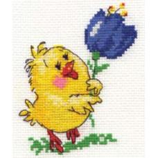 Набор для вышивания крестиком Алиса Цыпа (0-07)