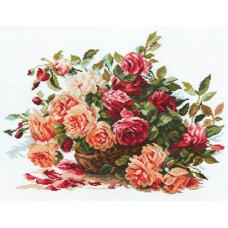 Набор для вышивания крестом Алиса Розы (2-06)