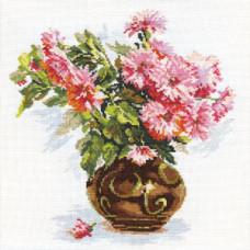Цветущий сад.Хризантемки. (2-09)
