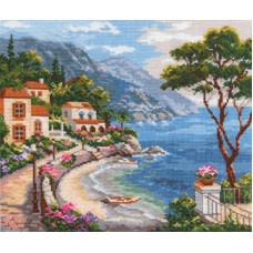 Набор для вышивания крестом Алиса Южный берег (3-02)