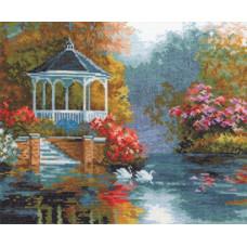 Набор для вышивания крестом Алиса Лебединый рай (3-03)
