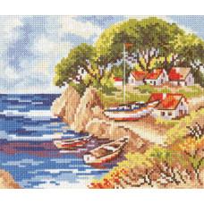 Набор для вышивания крестом Алиса Рыбацкий островок (3-07)
