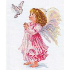 Набор для вышивания крестом Алиса Благослови (4-05)