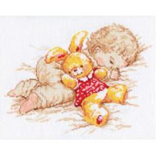 Набор для вышивания крестом Алиса Дочурка (4-06)